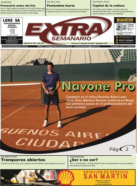 Tapa Semanario Extra