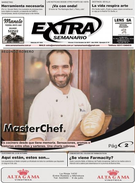 Tapa Semanario Extra del 13-10