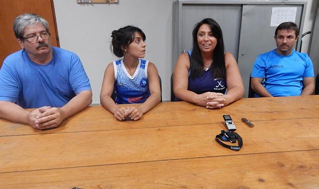 Martin Baztarrica, Florencia Fernandez, Silvia Aramburu y Marcelo Basile