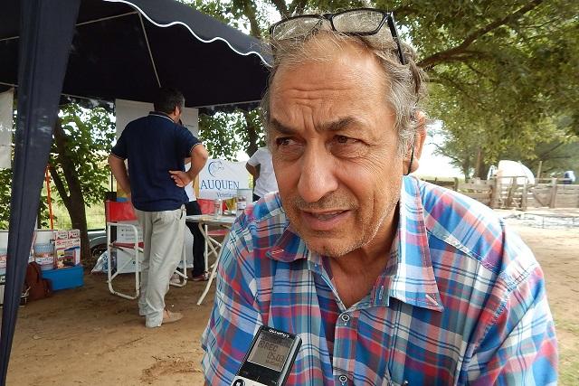Aldo Esteban vice presidente de Sociedad Rural de 9 de Julio, recordo la gesta del 2008