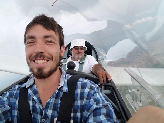Tomas Irureta Alumno y Roberto Segovia, Instructor.