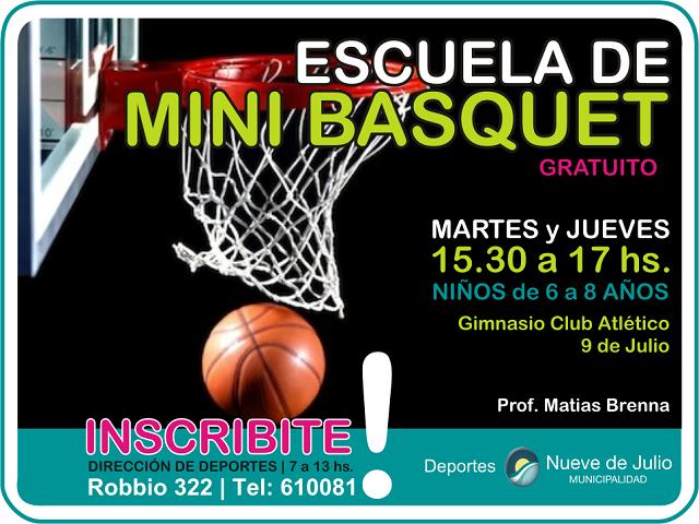 mini basquet