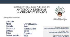 NUEVA ANTOLOGÍA DE CUENTOS DE ALCANCE REGIONAL