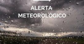 Alerta del Servicio Meteorológico Nacional