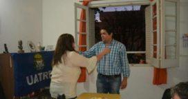 Ignacio Palacios se reunió con la referente del Partido FE y UATRE 9 de Julio