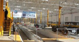 Bragado: La empresa TMH anunció nuevas inversiones en los talleres ferroviarios de Mechita