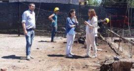 Vivani recorrió las obras en el Hospital Julio de Vedia