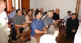 Reunión de sacerdotes en Nueve de Julio