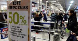 Banco Nación y Banco Provincia harán descuentos del 50% en supermercados