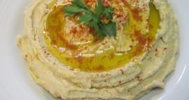 Hummus: una excelente opción para un menú fresco y saludable