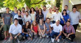 Margarita Stolbizer recibió en su casa a los dirigentes de la Cuarta Sección