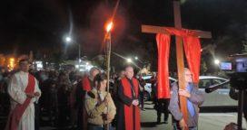 Viernes santo en la ciudad sede de la Diocesis