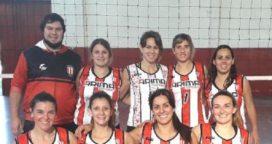 Voley: femenino Atlético ganó dos partidos en la 3ª fecha del Torneo de Maxi Voley