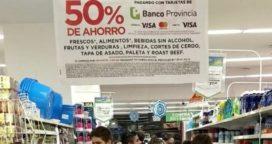 No seguirán los descuentos de 50% en supermercados