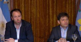 """Kicillof dijo que Provincia no tiene """"capacidad"""" para pagar y culpó a Vidal"""