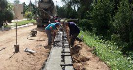 Continúan las obras de pavimentación
