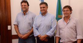 El intendente Barroso recibió a Jorge Macri